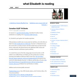 what Elisabeth is reading