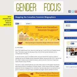 Mapping the Canadian Feminist Blogosphere