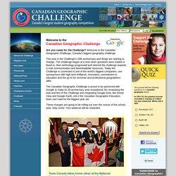 Dossier en ligne - Défi en géographie