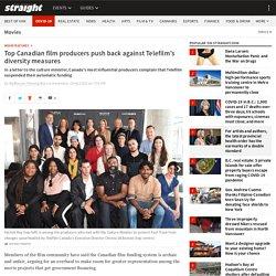 Top Canadian film producers push back against Telefilm's diversity measures