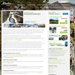 Canadian Rockies Tourism: Map, Tours & Things to Do