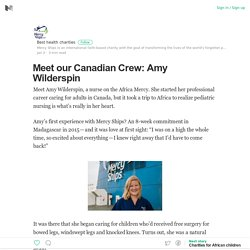 Meet our Canadian Crew: Amy Wilderspin
