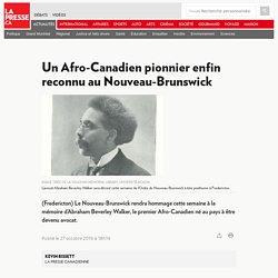 Un Afro-Canadien pionnier enfin reconnu au Nouveau-Brunswick