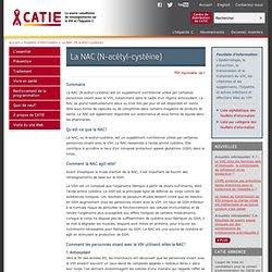 CATIE - La source canadienne de renseigements sur le VIH et l'hépatite C