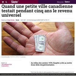 Quand une petite ville canadienne testait pendant cinq ans le revenu universel