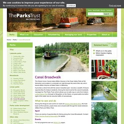 Canal Broadwalk - Parks Trust