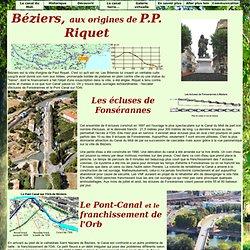 Le Canal du Midi en Languedoc : Béziers