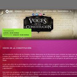 Voces de la Constitución