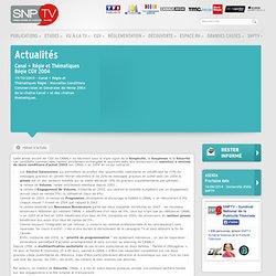 Les actualites - Syndicat National de la Publicité Télévisée