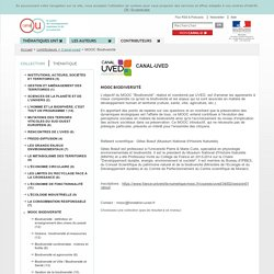 Canal-uved - Contributeurs - Canal-U