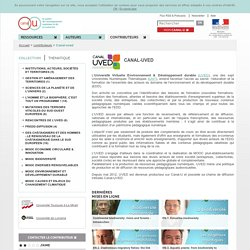 ved - Contributeurs - Canal-U