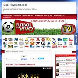 Canal F1 Latinoamerica Formula One Live Stream