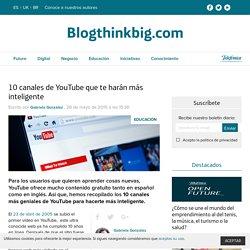 Canales educativos en YouTube: los 10 mejores