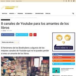 8 canales de Youtube para los amantes de los libros