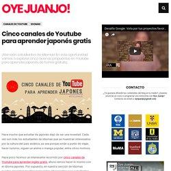 Cinco canales de Youtube para aprender japonés gratis