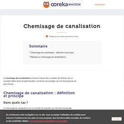Chemisage de canalisation : principe et réalisation - Ooreka