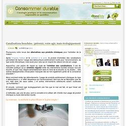 Canalisations bouchées : prévenir, voire agir, mais écologiquement Consommer Durable