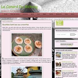 Bánh bèo - Bouchées aux crevettes
