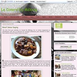 Le Canard Du Mékong: Boeuf Semur Daging