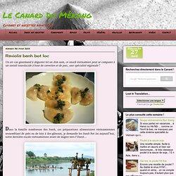 Bánh bột lọc - Raviolis au porc et aux crevettes