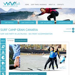 Surf School and accommodation in Las Palmas