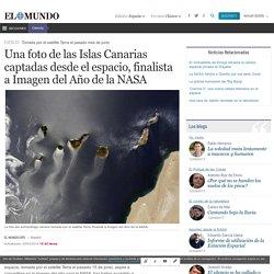 Una foto de las Islas Canarias captadas desde el espacio, finalista a Imagen del Año de la NASA