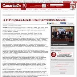 La ULPGC gana la Liga de Debate Universitario Nacional