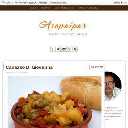 Asopaipas. Recetas de Cocina Casera .