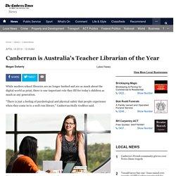 Australia's Teacher Librarian of the Year