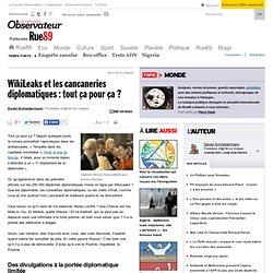 WikiLeaks et les cancaneries diplomatiques : tout ça pour ça ?