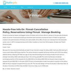 Finnair Cancellation Policy~18882025328
