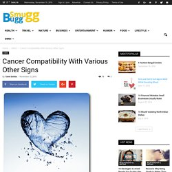 Cancer Compatibility With Various Other Signs - SmuGG BuGG