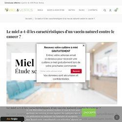 Miel & cancer : étude scientifique sur son efficacité