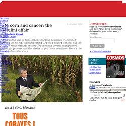 GM corn and cancer: the Séralini affair
