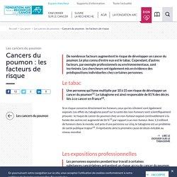 Cancers du poumon : les facteurs de risque