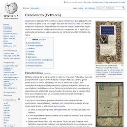 Cancionero (Petrarca)