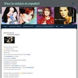 Canciones con Pretérito/Imperfecto - !Viva la música en español!