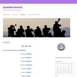 QUADERN MUSICAL