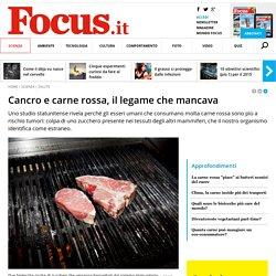 Cancro e carne rossa, il legame che mancava