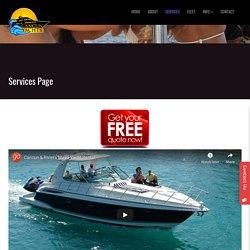 Yacht Charters Cancun