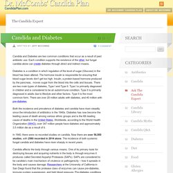 Candida and Diabetes - Candida Blog by Dr. Jeff McCombs, DC Candida Blog by Dr. Jeff McCombs, DC