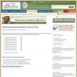 Candida Online Health Class with Byron J. Richards