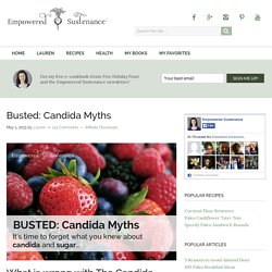 Busted Candida Myths (and how to properly address candida!)