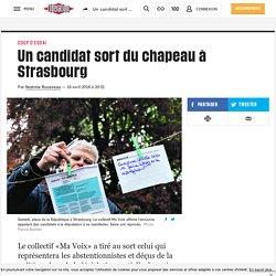 Un candidat sort du chapeau à Strasbourg