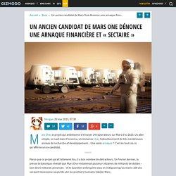 """Un ancien candidat de Mars One dénonce une arnaque financière et """"sectaire"""""""