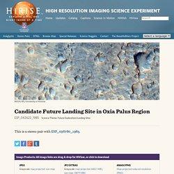 Candidate Future Landing Site in Oxia Palus Region (ESP_042622_1985)