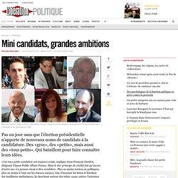 Mini candidats, grandes ambitions - Libération-Mozilla Firefox