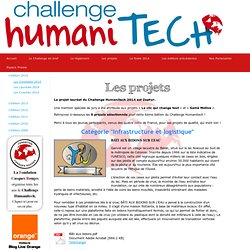 Les Candidats 2014 - CHALLENGE HUMANITECH