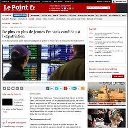 De plus en plus de jeunes Français candidats à l'expatriation