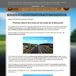 Tour des Candidats et Maires de France: Appel aux Territoires Hautement Citoyens